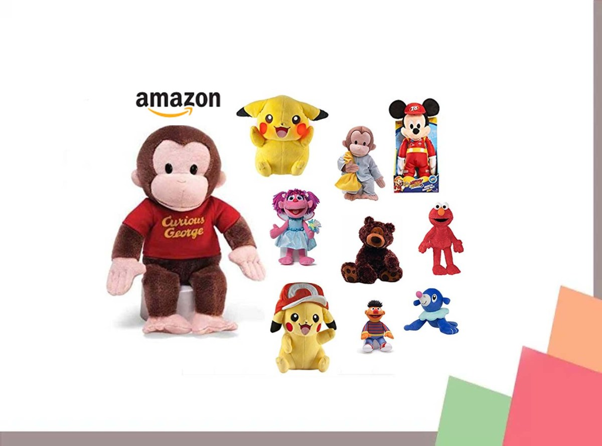 12 Inch Curious George Stuffed Animal for$7.49at Amazon