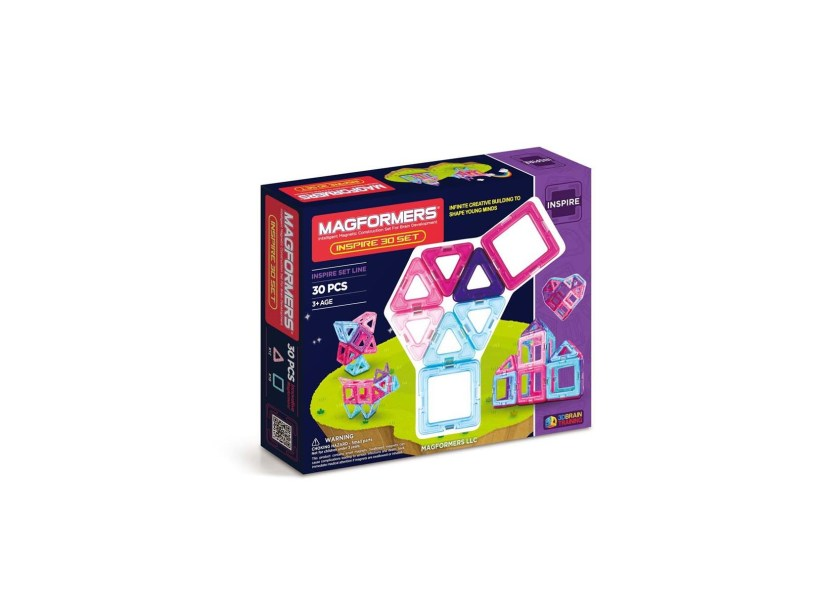 30-pieces Magformers Inspire Set