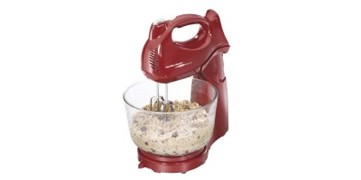 Hamilton Beach Power Deluxe 4 Quart Stand Mixer – Red (64699)