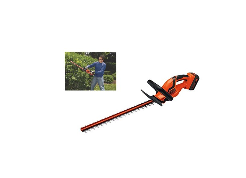 BLACK+DECKER LHT2436 40V Cordless Hedge Trimmer – 24