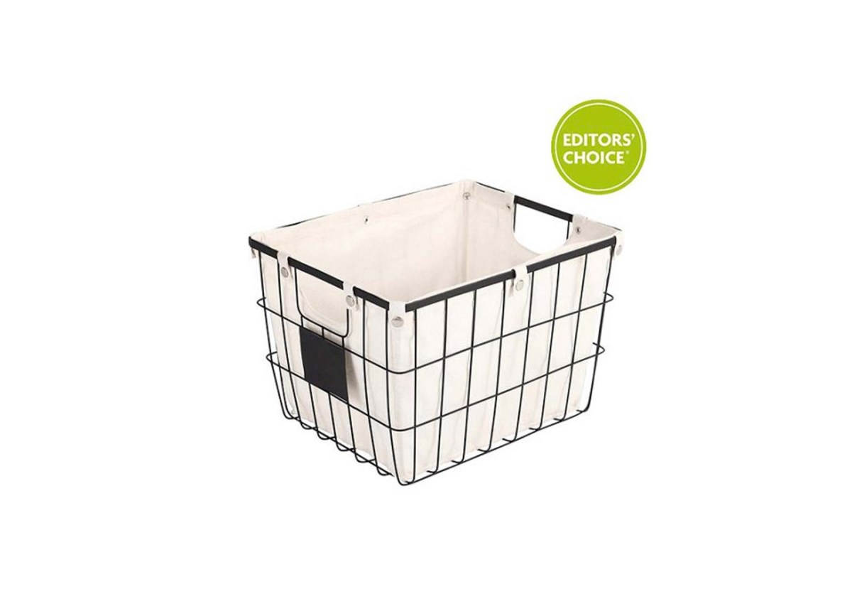 Better Homes and Gardens Medium Wire Basket with Chalkboard for ...