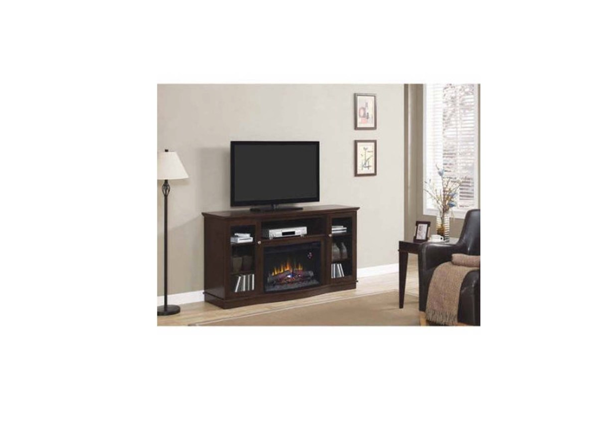 "ChimneyFree Media Electric Fireplace for TVs up to 65"" for $189.99 at Walmart"