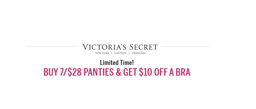 d33e687c5a Buy 7 Victoria s Secret Women s Panties for  28   Get  10 off a Bra at Victoria s  Secret
