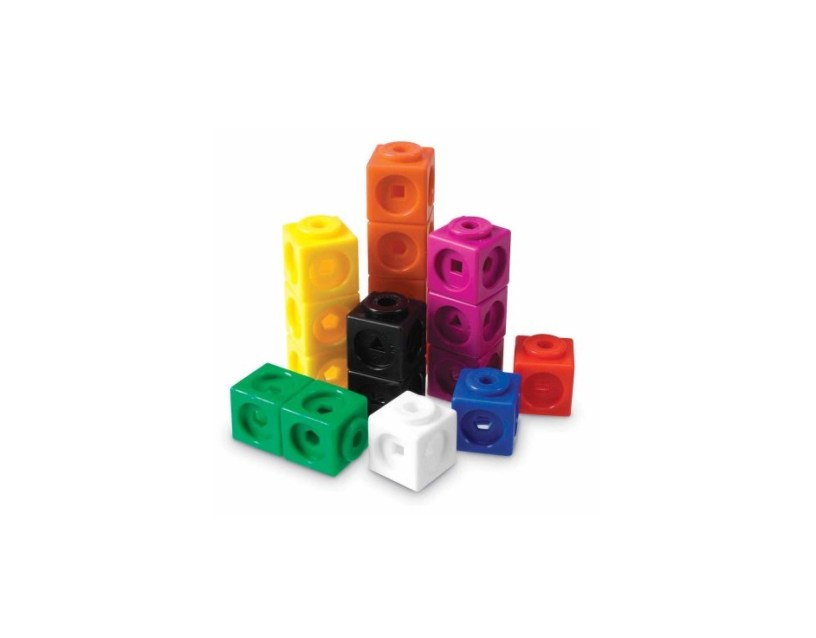100 Count Learning Resources MathLink Cubes