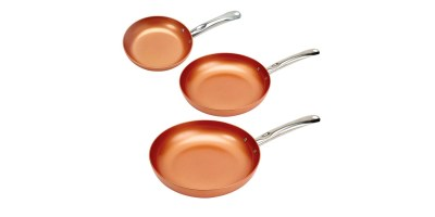 3 Pack Copper Chef Round Pan