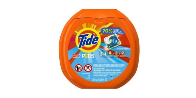 72 Count Tub – Tide PODS 3 in 1 HE Turbo Laundry Detergent Pacs (Ocean Mist Scent)
