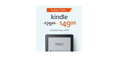 Kindle E-reader 6 Glare-Free Touchscreen Display – Wi-Fi Built-In Audible