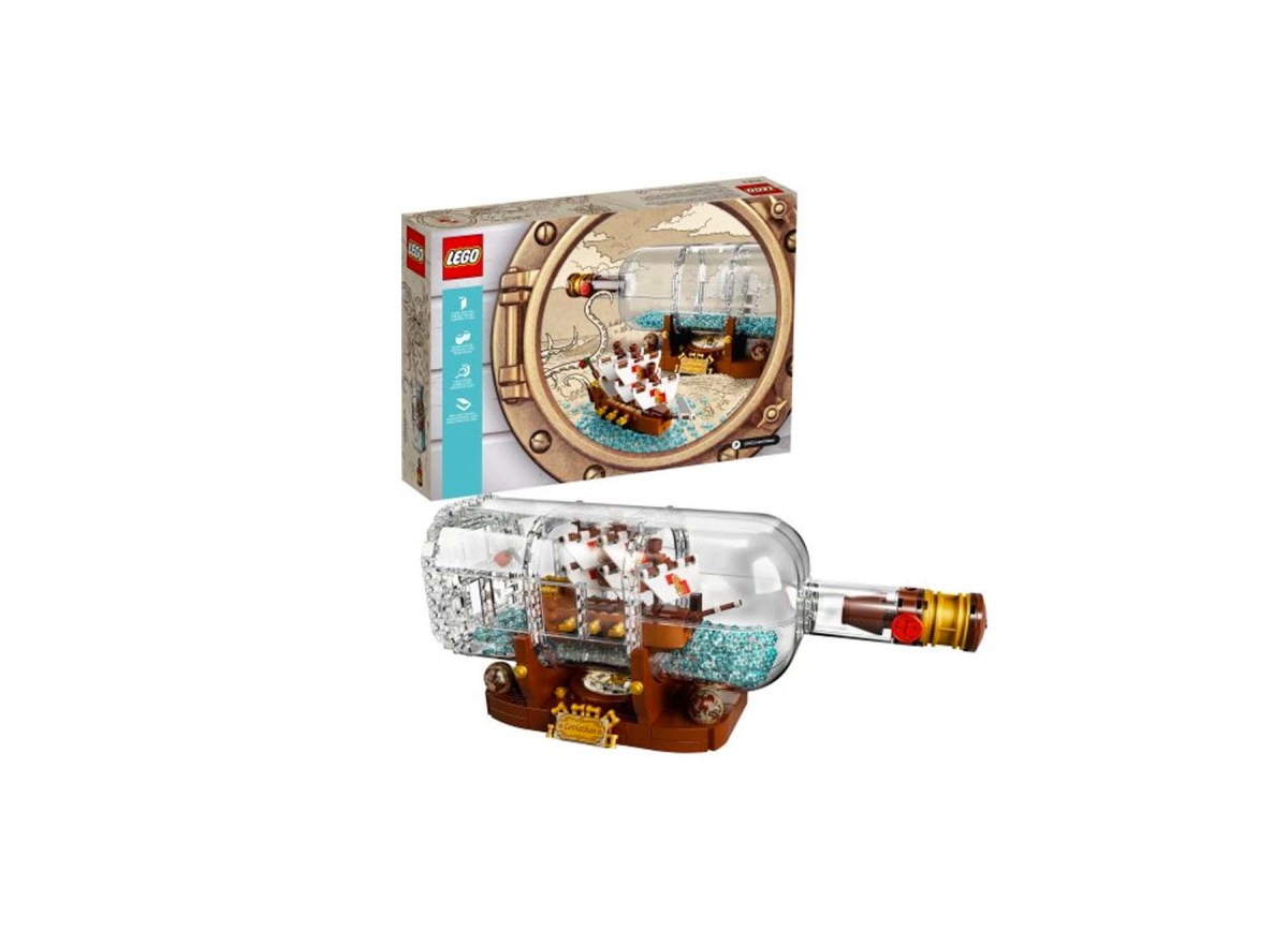 Lego Ideas Ship in a Bottle 21313 for $59.88 at Walmart & Amazon