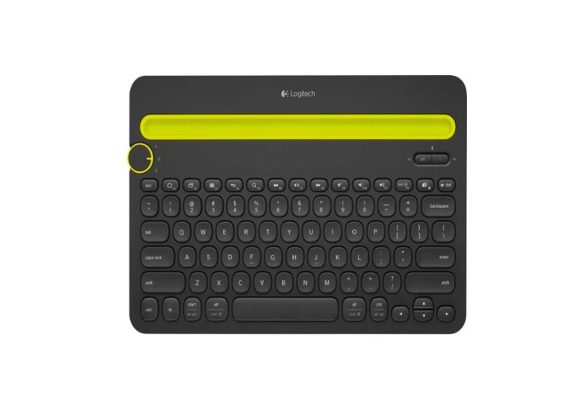 Logitech K480 Bluetooth Multidevice Keyboard for $24 99 at