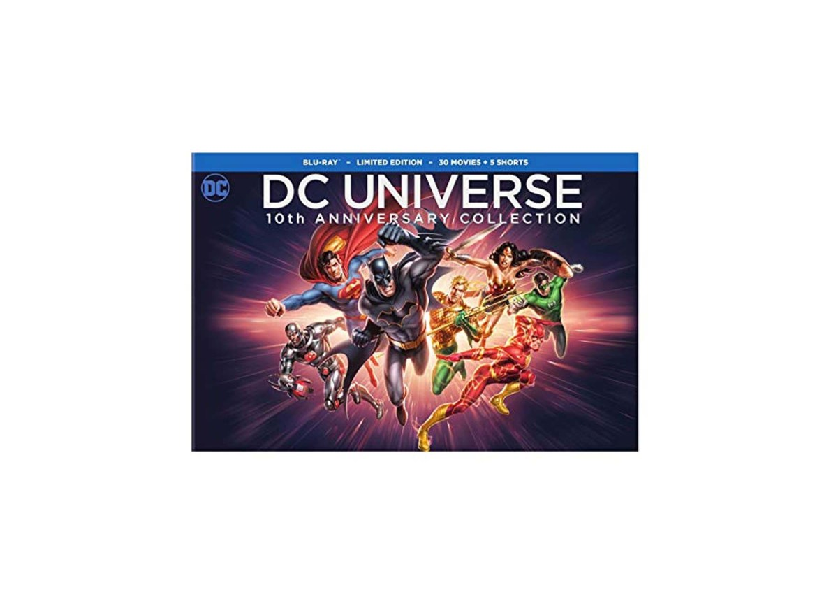 DC Universe 10th Anniversary Collection 30 Movies Blu-ray for $99.99 at Amazon