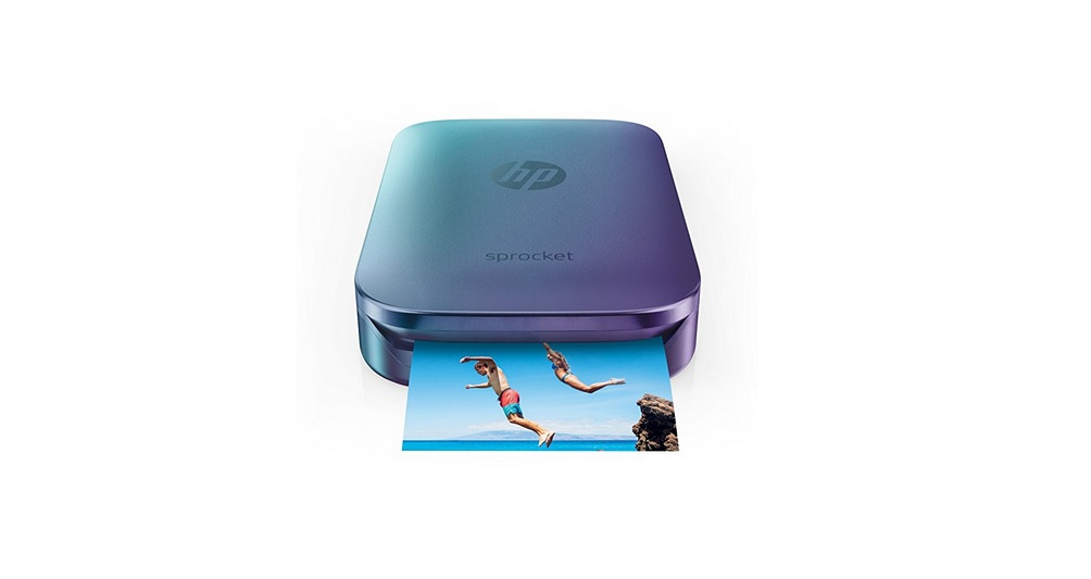 HP Blue Sprocket Portable Photo Printer for $89.99 at Amazon