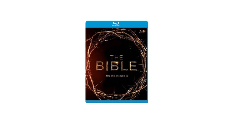 The Bible: The Epic Miniseries Blu-ray for $14.99 at Amazon