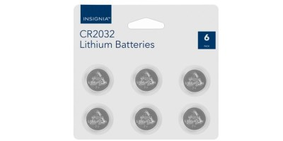 6 Pack Insignia Batteries (CR2032)