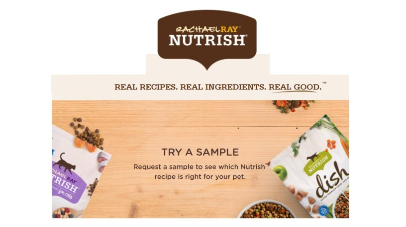 Rachael Ray Nutrish Dog OR Cat Food