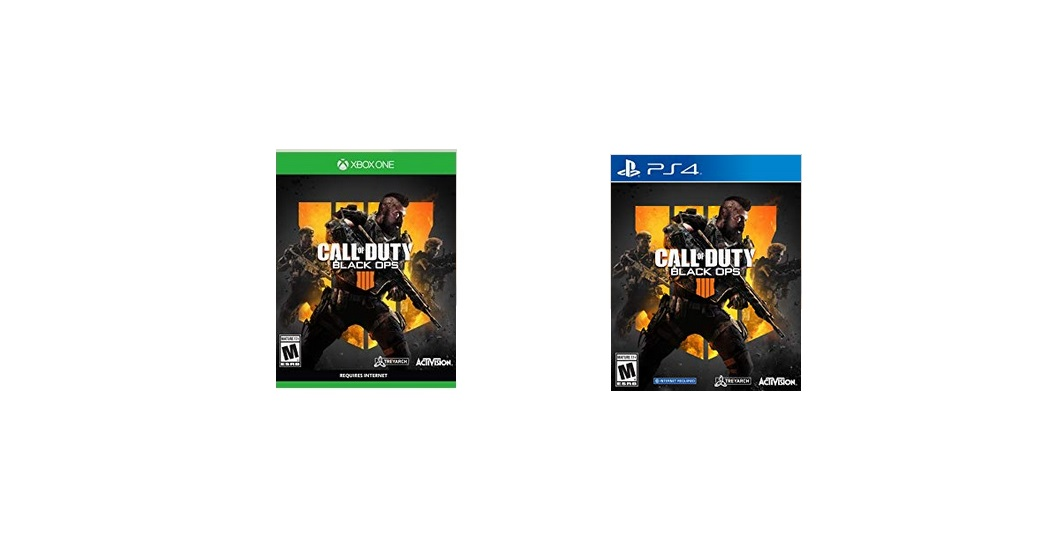 Call of Duty: Black Ops 4 PlayStation 4/Xbox One Standard Edition for $39.99 at Amazon
