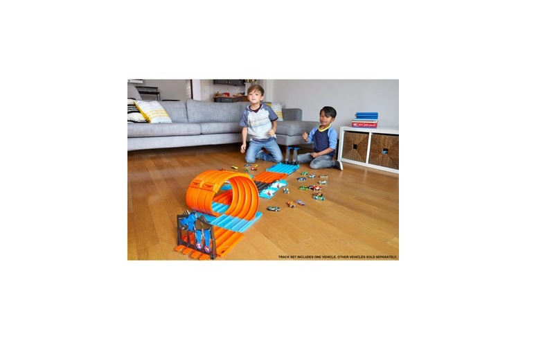 Hot Wheels Track Builder System Race Crate & Stunt Set for $29.97 at Walmart