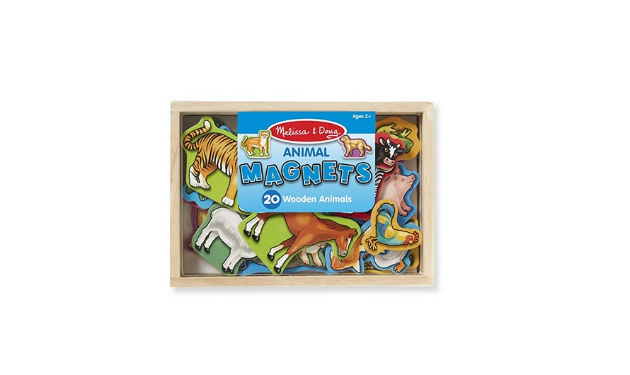 Melissa & Doug 20 Animal Magnets in a Box for $6 at Amazon