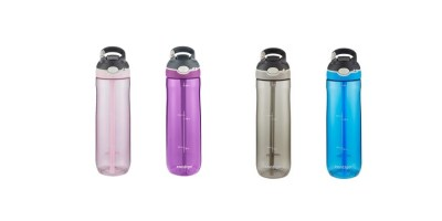 2 Pack 24oz Contigo AUTOSPOUT Straw Ashland Water Bottle