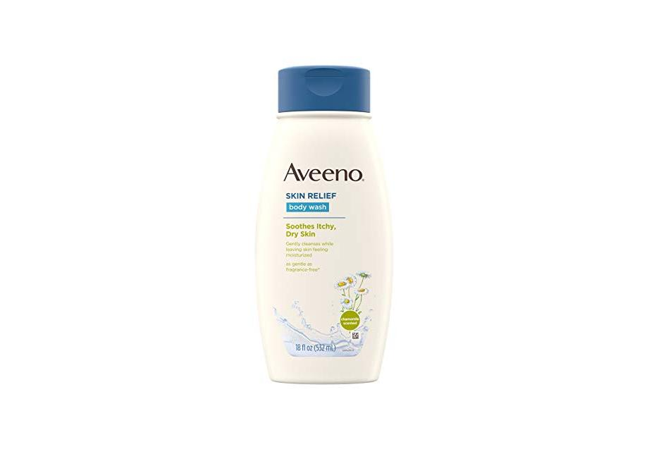 Aveeno Skin Relief Body Wash with Chamomile Scent & Soothing Oat, Gentle Soap-Free Body Cleanser 18 fl. Oz (Pack of 3) for $7.49 at Amazon
