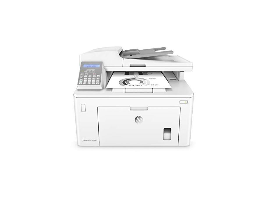 HP Laserjet Pro M148fdw All-in-One Wireless Monochrome Laser Printer with Auto Two-Sided Printing  Mobile Printing  Fax & Built-in Ethernet (4PA42A) for $129.99 at Amazon