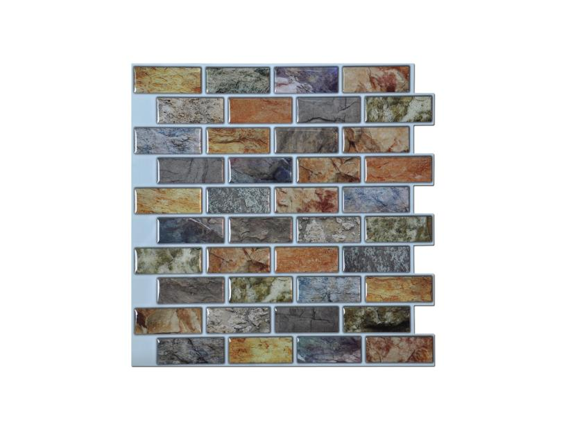 Fine Art3D 12 X 12 Self Adhesive Kitchen Backsplash Tile Peel Home Interior And Landscaping Oversignezvosmurscom