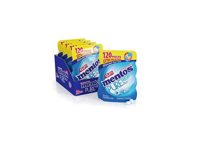 Mentos Pure Fresh Sugar-Free Chewing Gum with Xylitol Fresh
