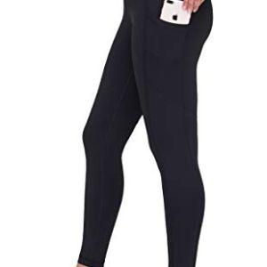 90 Degree By Reflex Women's Power Flex Yoga Pants - Black 2019 - Medi...