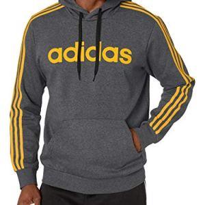 adidas Essentials Men's 3-Stripes Pullover Hoodie