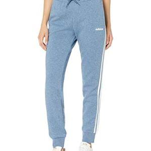 adidas Essentials Women's 3-Stripes Fleece Joggers, Tech Ink Mel/Whit...