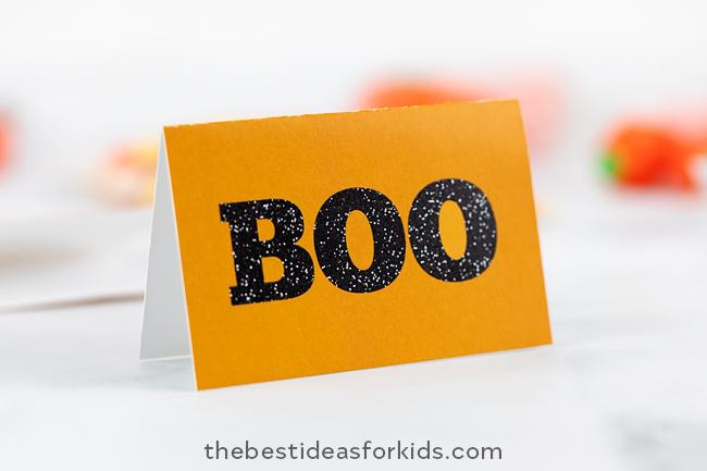 Halloween BOO tag