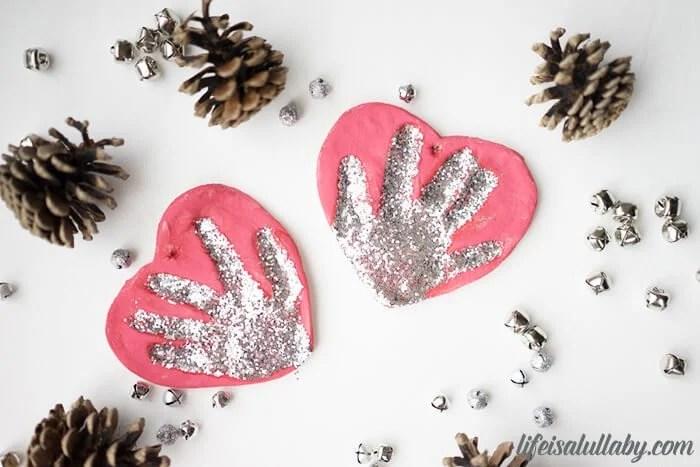 Salt Dough Handprint Ornaments Recipe