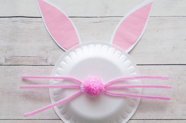 Make Paper Easter Bunny Craft Ears