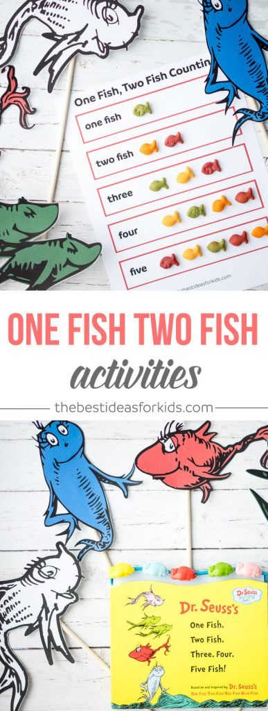 One Fish Two Fish Printable Activities