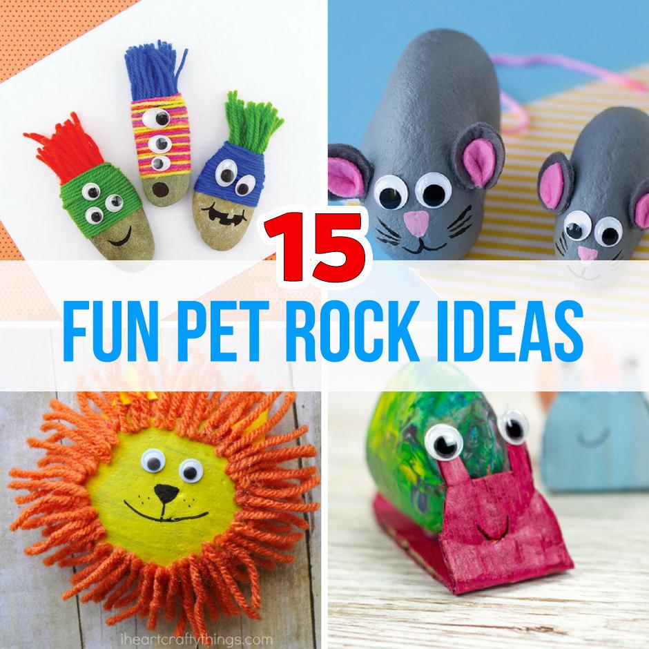 15 Fun Pet Rock Ideas  The Best Ideas for Kids