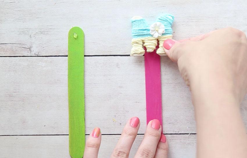 Glue on Craft Stick
