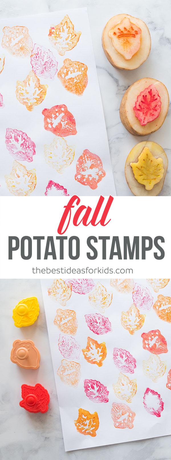Fall Potato Stamps