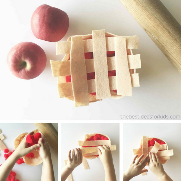Felt Apple Pie Craft