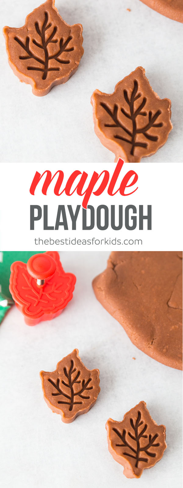Maple Playdough Fall Scented