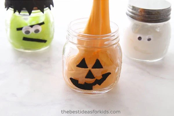 Pumpkin Slime for Halloween