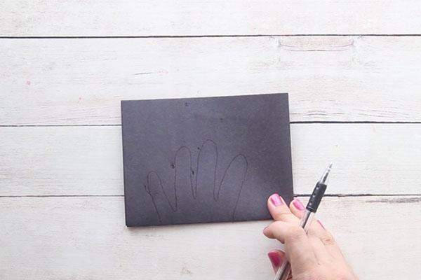 Trace Handprint for Spider Handprint