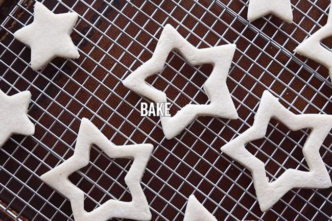Bake Salt Dough Christmas Decorations