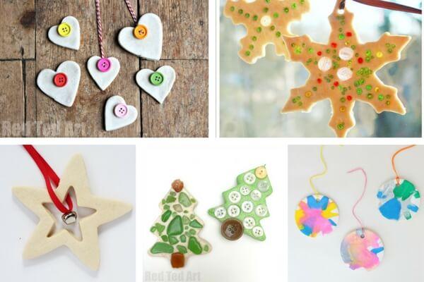 Salt Dough Ornament Ideas