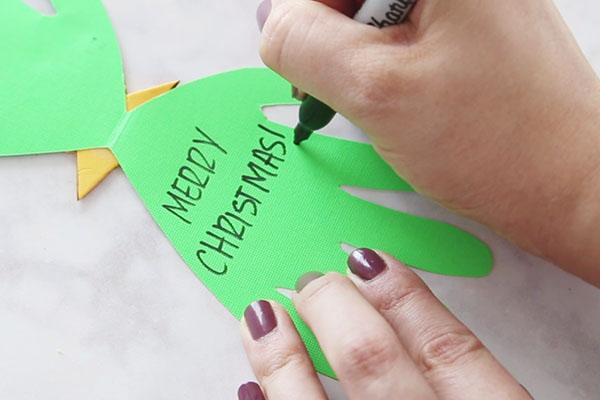 Christmas Card Ideas Preschoolers