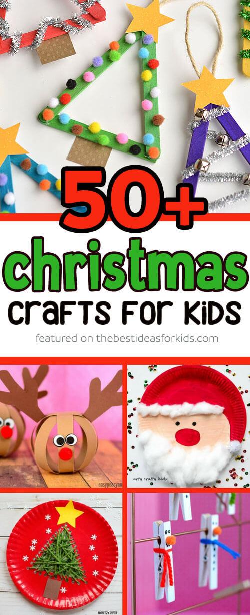 Christmas Handprint Crafts For Kids