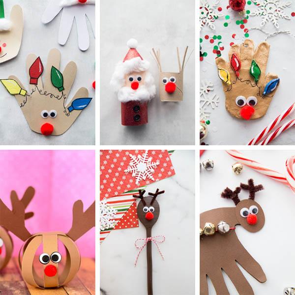 Christmas Reindeer Crafts for Kids