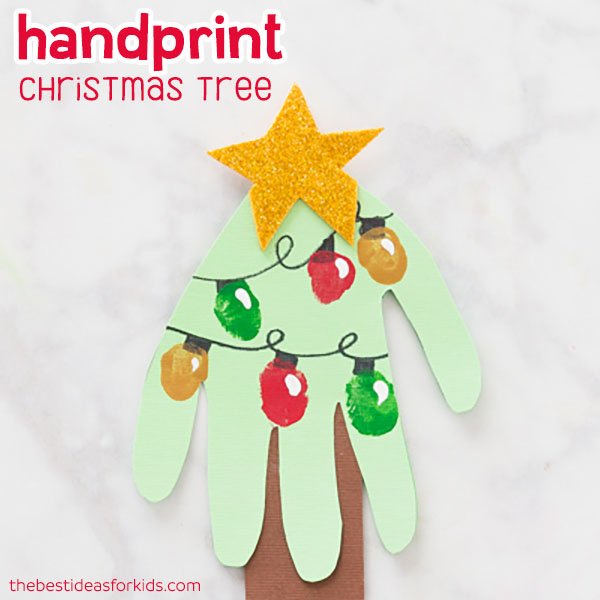 Fingerprint Christmas Tree