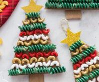 Macaroni Christmas Tree Ornament