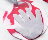 Polymer Clay Handprint