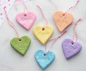 Salt Dough Hearts