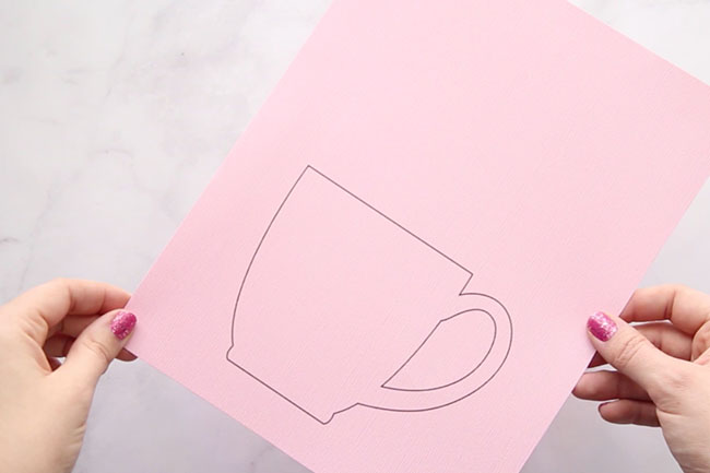 Coffee Cup Template Printable